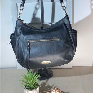 Liz Claiborne ~ Black Shoulder Bag